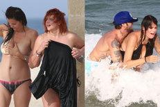 Uteklo vám! Skandál nahé Ornelly v Tunisu! A Sámerův sex na pláži!