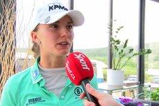Spilková vstoupila do turnaje na Dýšině třemi ranami nad par