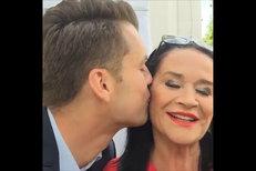 Gregorová na svatbě syna představila milence: Možná se vdám i já!