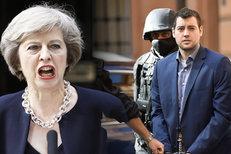 Britská premiérka by shodila atomovku na obyvatelstvo. A žalobkyně chce pro Dalghrena doživotí