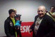 Zdeněk Srstka pogratuloval vítězům prvního kola soutěže NEJpes Česka