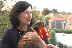 Eurokomisařka Věra Jourová ukázala své bydlení v Bruselu