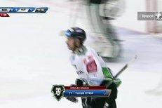 Mladá Boleslav - Vítkovice: Obrovská chyba Bartošáka, Hyka vstřelil gól na 1:0