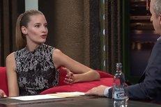Linda Vojtová v Show Jana Krause