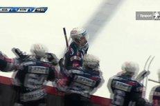 Karlovy Vary - Kometa Brno: Ondřej Němec otevřel skóre utkání, 0:1
