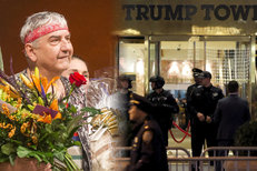 """Poplach v Trumpově mrakodrapu. A Donutil """"dosloužil"""" v Národním divadle"""