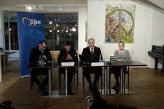 Nadija Savčenková v Praze: Česko a Ukrajina mají mnoho společného.