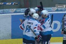Chomutov - Kometa Brno: Rutta přidal pátý dým domácích, 5:2