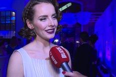 Zprávařka Gábina Lašková na plese: Podivný účes měl dva významy!