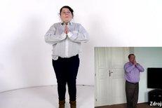 Sejroška cvičí jógu jako Jiří Paroubek! Podívejte se, jak se mu podobá!