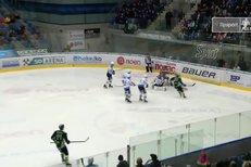 Chomutov - Mladá Boleslav: Parádní sólo! Hyka se prosmýkl mezi dvěma hráči a snížil na 1:2