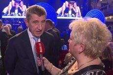 Andrej Babiš na koncertu Karla Vágnera k jeho 75. narozeninám