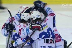 Kometa Brno - Mountfield HK: Gól! Erat skóruje v play off po dvanácti letech, 2:0