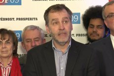 Niedermayer: TOP 09 podporuje placení eurem. Rozkolísání kurzu koruny je nebezpečné