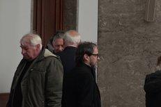 Pohřeb Libuše Havelkové (†92): Přišel Somr a Havelka s rodinou