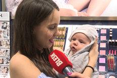 Míša Tomešová z Ulice: Osm týdnů po porodu s miminkem na akci! Kila mi zůstala v prsou