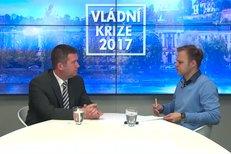 Jan Hamáček o pracovní cestě premiéra Sobotky do Lucemburska
