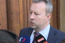 Richard Brabec před jednání koaliční rady