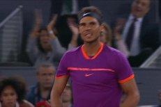 SESTŘIH: Nadal doma v Madridu válí, ve čtvrtfinále zdolal Goffina