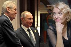 Zeman si v Číně notoval s Putinem. A Žilková promluvila o smrti dítěte