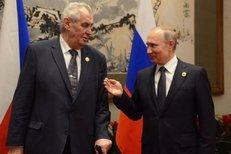 Miloš Zeman se baví s Putinem o likvidaci novinářů