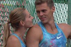Hříšná atletická těla. Podívejte se, jak se Rosolová a Helcelet fotili pro Sport Magazín