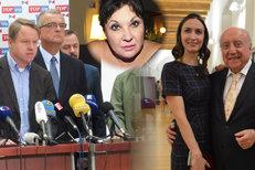 Kalousek se do voleb spojil s Bursíkem. A Patrasová o sexu se Slováčkem