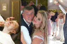 To nejlepší ze svatby Andreje Babiše: Vášnivý polibek a nevěsta s nadupaným korzetem!