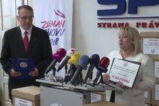Zemanová ohlásila dostatek podpisů na petici pro manželovo druhé prezidentské období