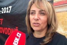 Pražská primátorka Adriana Krnáčová (ANO) vzpomíná na povodeň roku 2002.