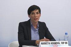 Sliby TOP 09 pro sociální oblast: Snížíme odvody na sociální pojištění, slibuje Markéta Pekarová Adamová.