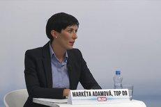 Markéta Adamová (TOP 09) dostala otázky na tělo: Jak by si rozložila rodičovský příspěvek?