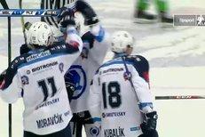 Mladá Boleslav - Plzeň: Kubalík se trefil přesně pod horní tyč, 1:2