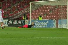 Slavia - Brno: Slávisté se dočkali – Necid se trefil hlavou a je to 1:0
