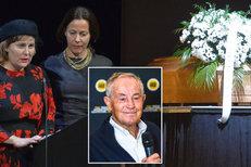 Třískovy dcery Jana a Karla na tátově pohřbu: Bojovaly s češtinou a recitovaly!