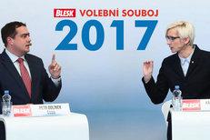 Spor o lithium: Ministryně Šlechtová (ANO) se v debatě Blesku přela s Dolínkem z ČSSD