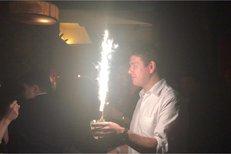 Skopeček slavil znovuzvolení a také narozeniny