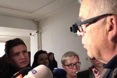 Obhájce Nečesaného Oldřich Chudoba komentuje soudní jednání