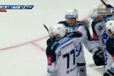 Liberec - Plzeň: Mertl si sjel před branku a procpal puk do brány, 0:3