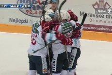 Olomouc - Pardubice: Úvodní gól zápasu vstřelil Martin Kaut, 0:1