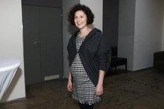 Martha Issová: Druhé těhotenství mi hrozně rychle utíká