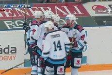 Kometa Brno - Chomutov: Vondrka rozhodl o výhře hostů, 2:3