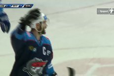 Chomutov - Mountfield HK: Vondrka se dostal ke kotouči a ukončil prodloužení, 3:2