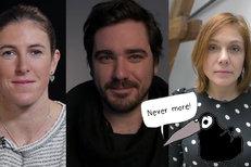 Never More: Zuzana Hejnová, Vojta Kotek, Bára Šťastná