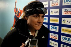 Karolína Erbanová o svém prvním triumfu v SP na 500 metrů