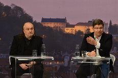 Nejemotivnější moment debaty: Pospíšil s Jaklem si vjeli do vlasů kvůli referendu a Bruselu