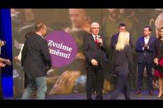 Jiřího Drahoš poděkoval voličům