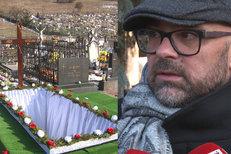 Pohřeb Jána Kuciaka: Zlomilo nás to, dopadnutí viníka je důležité, říká jeho šéf