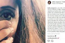 Nergesova status na Instagramu