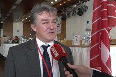 Jiří Dolejš na sjezdu KSČM: Přeji si v čele strany lidi s větší budoucností a ne echo minulosti